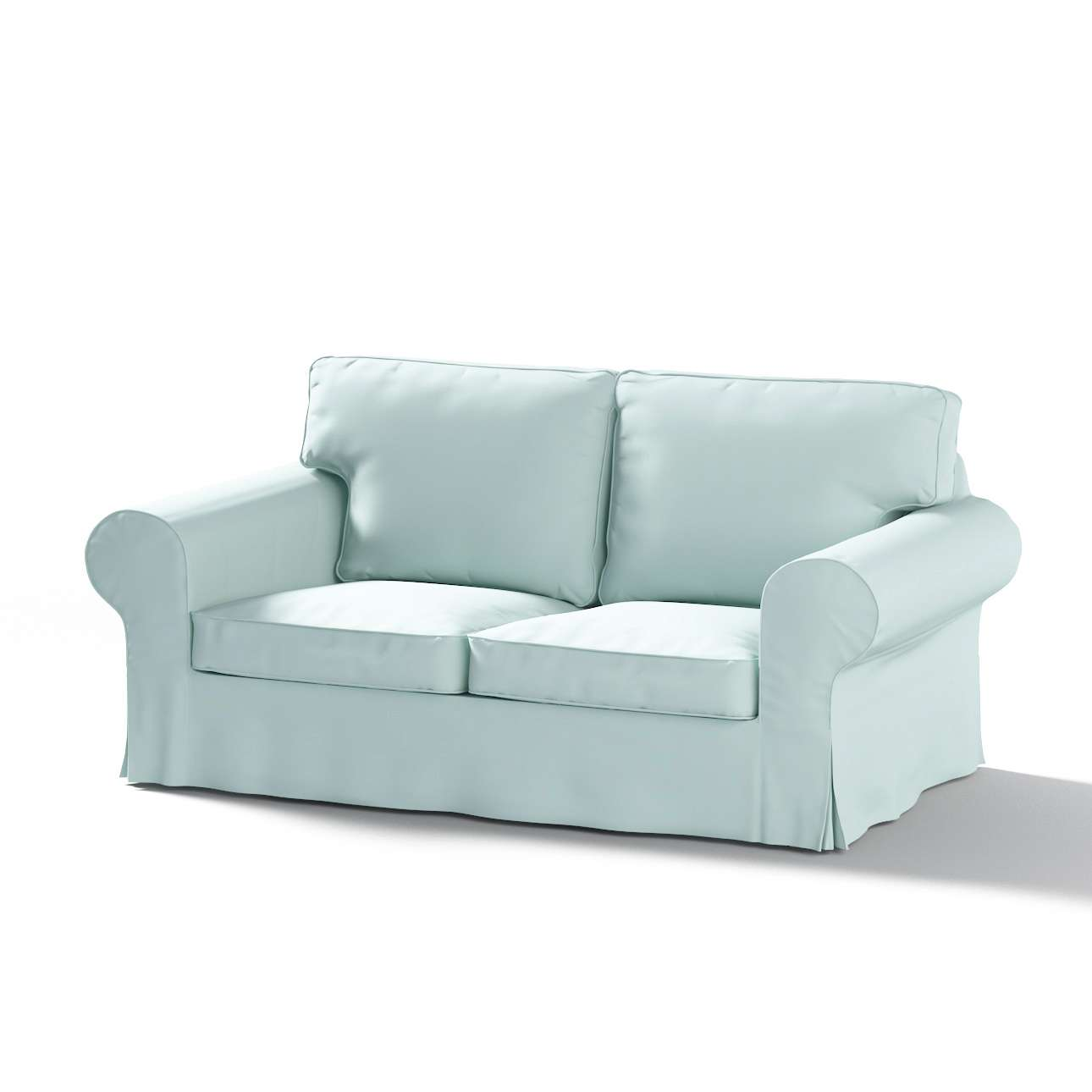 Ektorp 2-seater sofa cover in collection Panama Cotton, fabric: 702-10