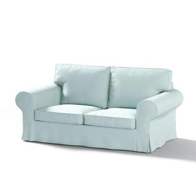 Pokrowiec na sofę Ektorp 2-osobową, nierozkładaną w kolekcji Cotton Panama, tkanina: 702-10