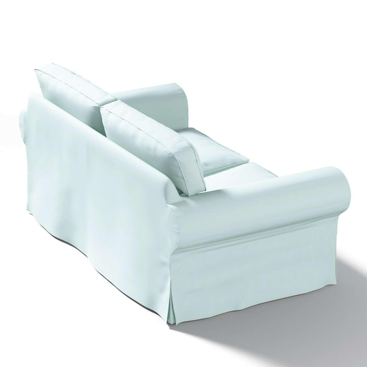 Ektorp 2-Sitzer Sofabezug nicht ausklappbar Sofabezug für  Ektorp 2-Sitzer nicht ausklappbar von der Kollektion Cotton Panama, Stoff: 702-10