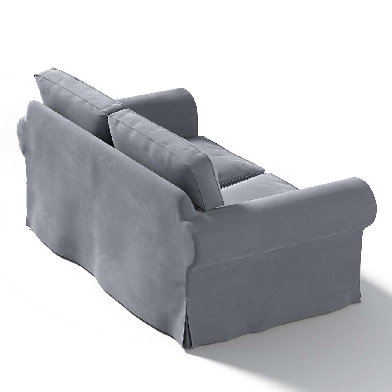 Pokrowiec na sofę Ektorp 2-osobową, nierozkładaną w kolekcji Velvet, tkanina: 704-12