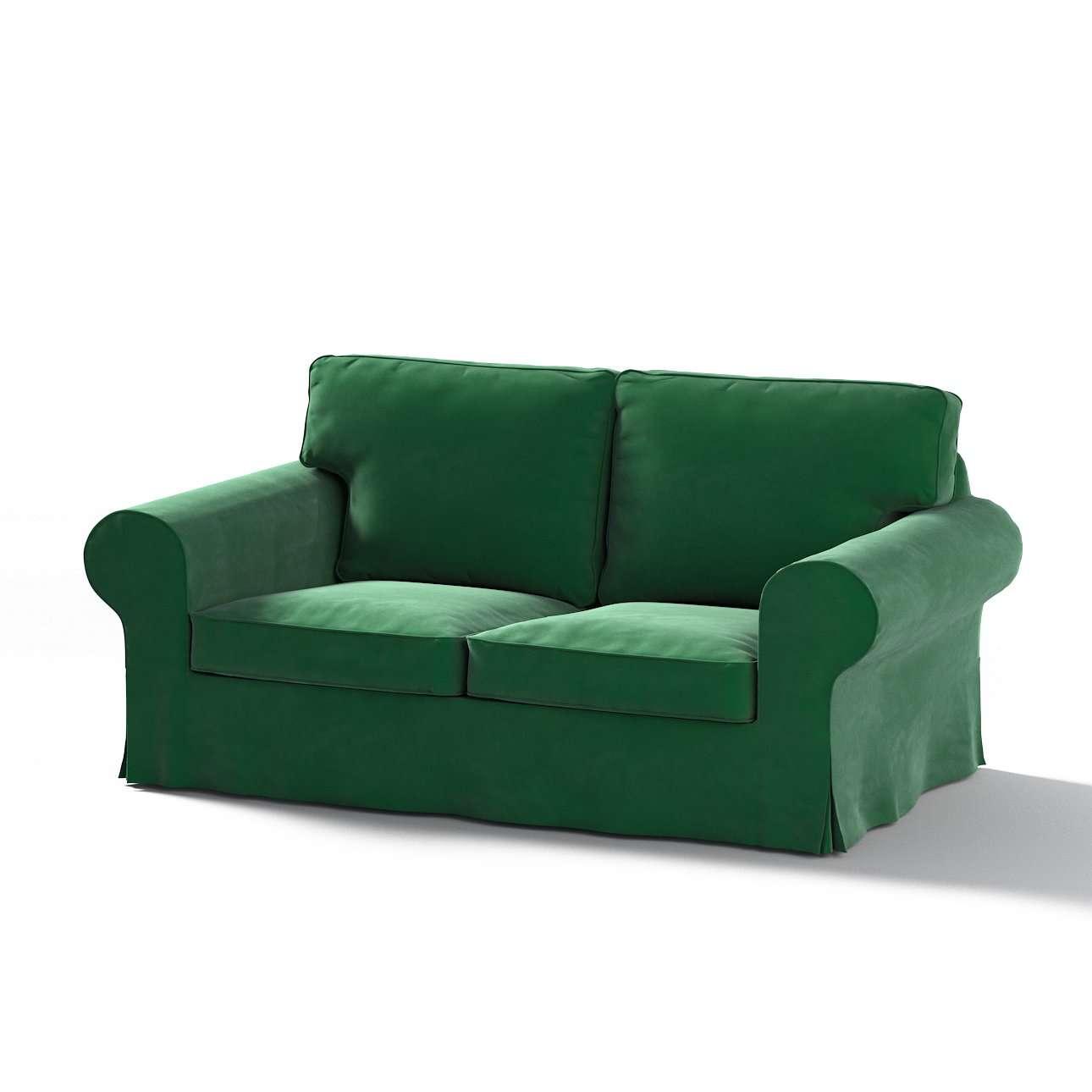 Pokrowiec na sofę Ektorp 2-osobową, nierozkładaną w kolekcji Velvet, tkanina: 704-13