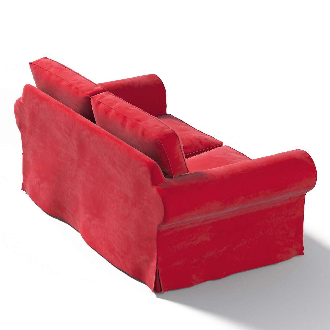 Pokrowiec na sofę Ektorp 2-osobową, nierozkładaną w kolekcji Velvet, tkanina: 704-15