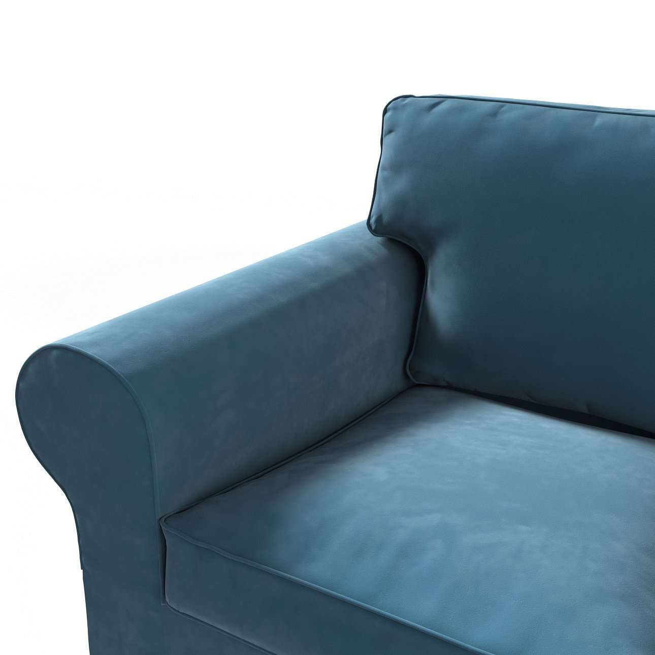 Poťah na sedačku Ektorp (nerozkladá sa, pre 2 osoby) V kolekcii Velvet, tkanina: 704-16