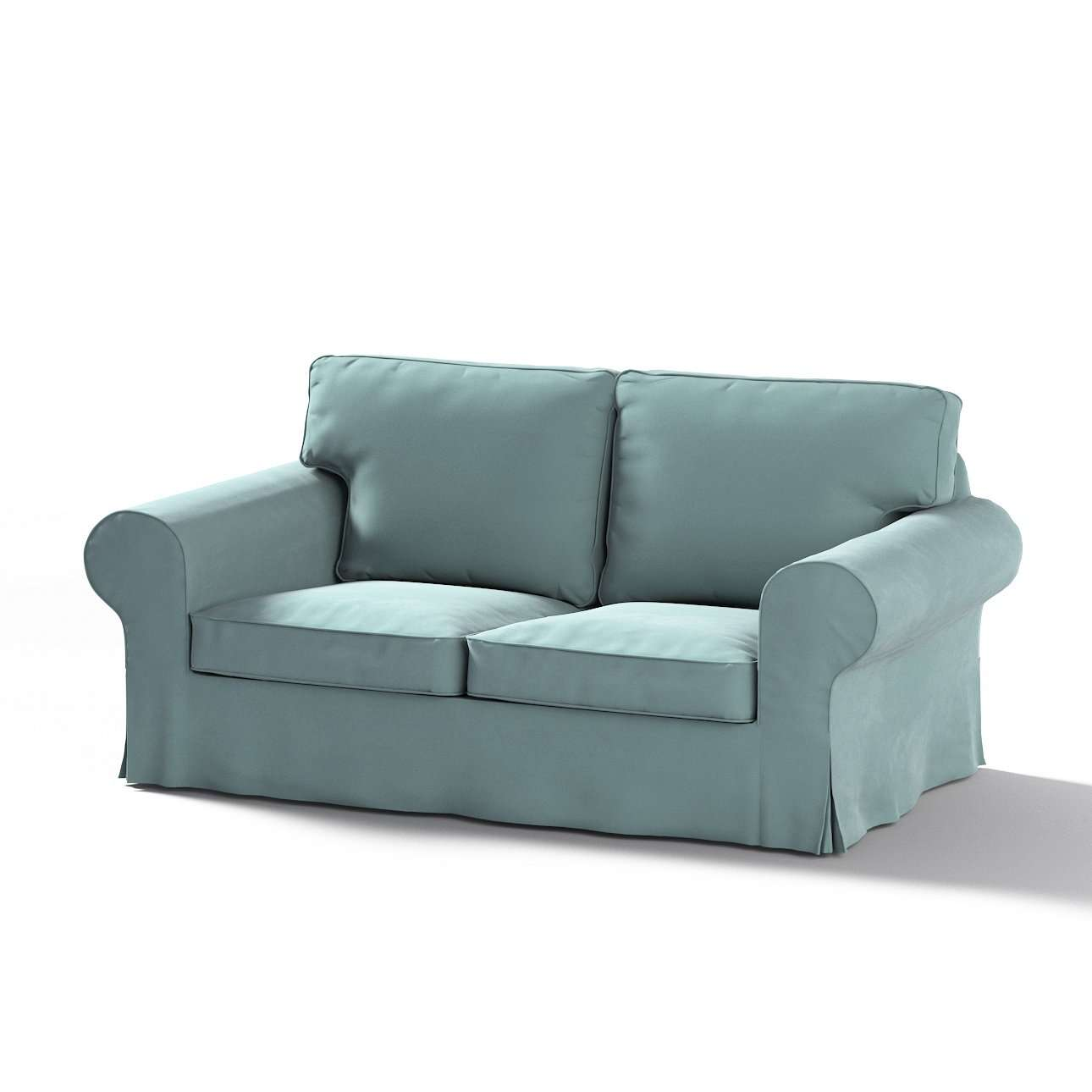 Ektorp 2-Sitzer Sofabezug nicht ausklappbar von der Kollektion Velvet, Stoff: 704-18