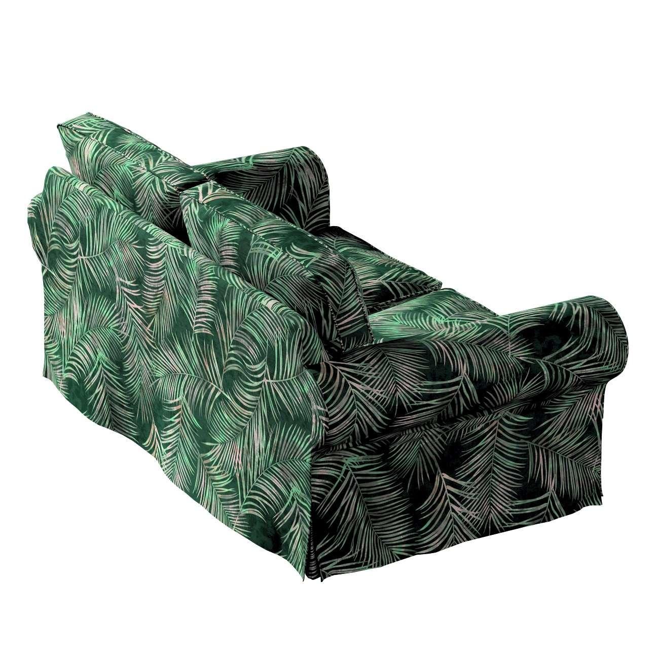 Pokrowiec na sofę Ektorp 2-osobową, nierozkładaną w kolekcji Velvet, tkanina: 704-21