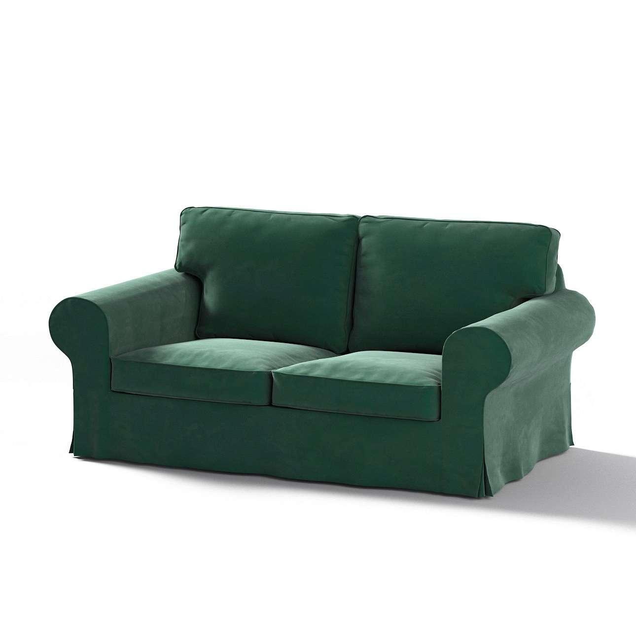 Pokrowiec na sofę Ektorp 2-osobową, nierozkładaną w kolekcji Velvet, tkanina: 704-25