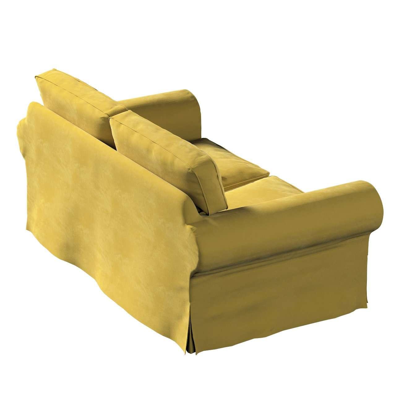 IKEA-hoes voor Ektorp 2-zitsbank - niet uitklapbaar van de collectie Velvet, Stof: 704-27