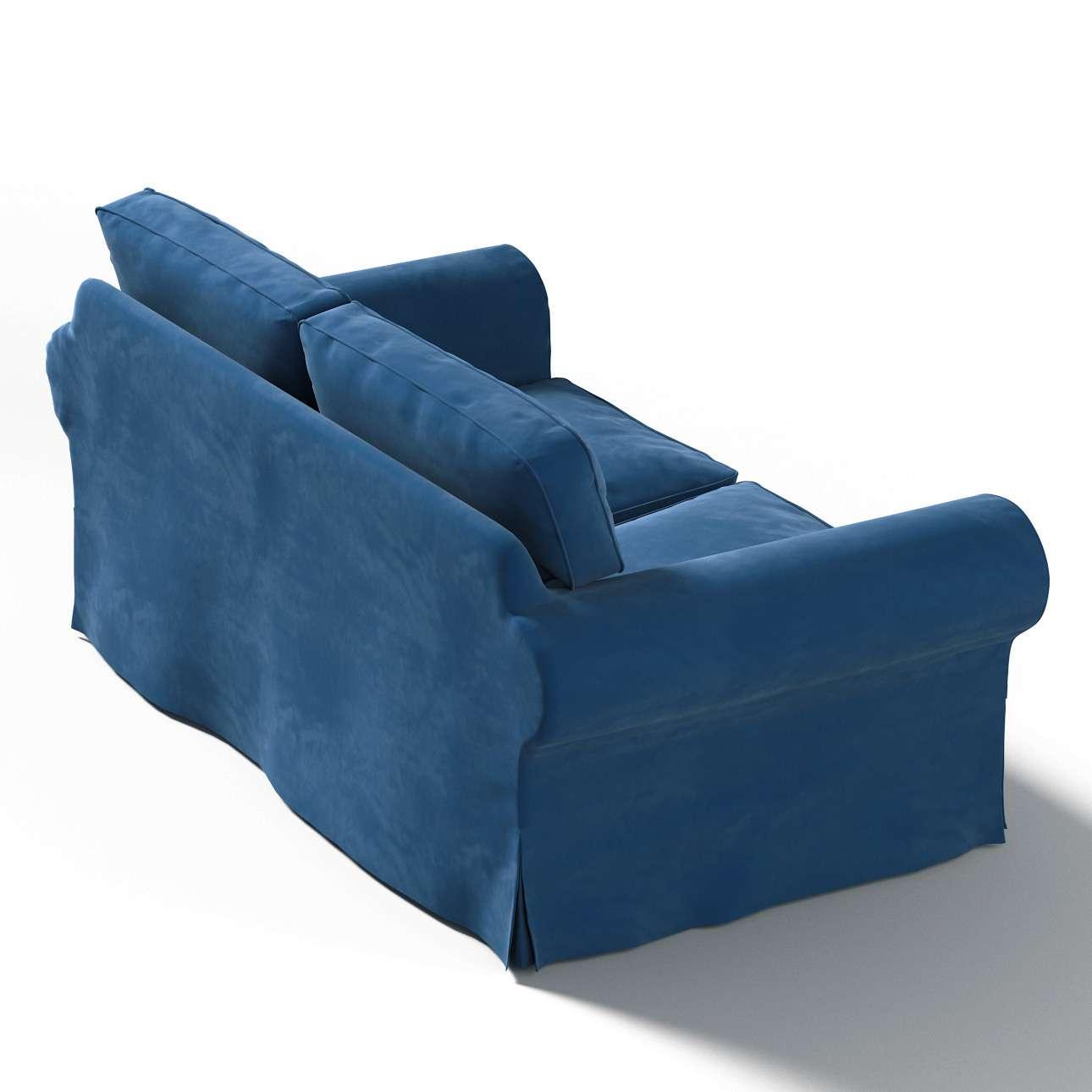 IKEA-hoes voor Ektorp 2-zitsbank - niet uitklapbaar van de collectie Velvet, Stof: 704-29