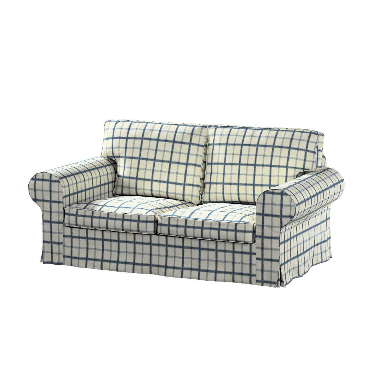 Pokrowiec na sofę Ektorp 2-osobową, nierozkładaną Sofa Ektorp 2-osobowa w kolekcji Avinon, tkanina: 131-66