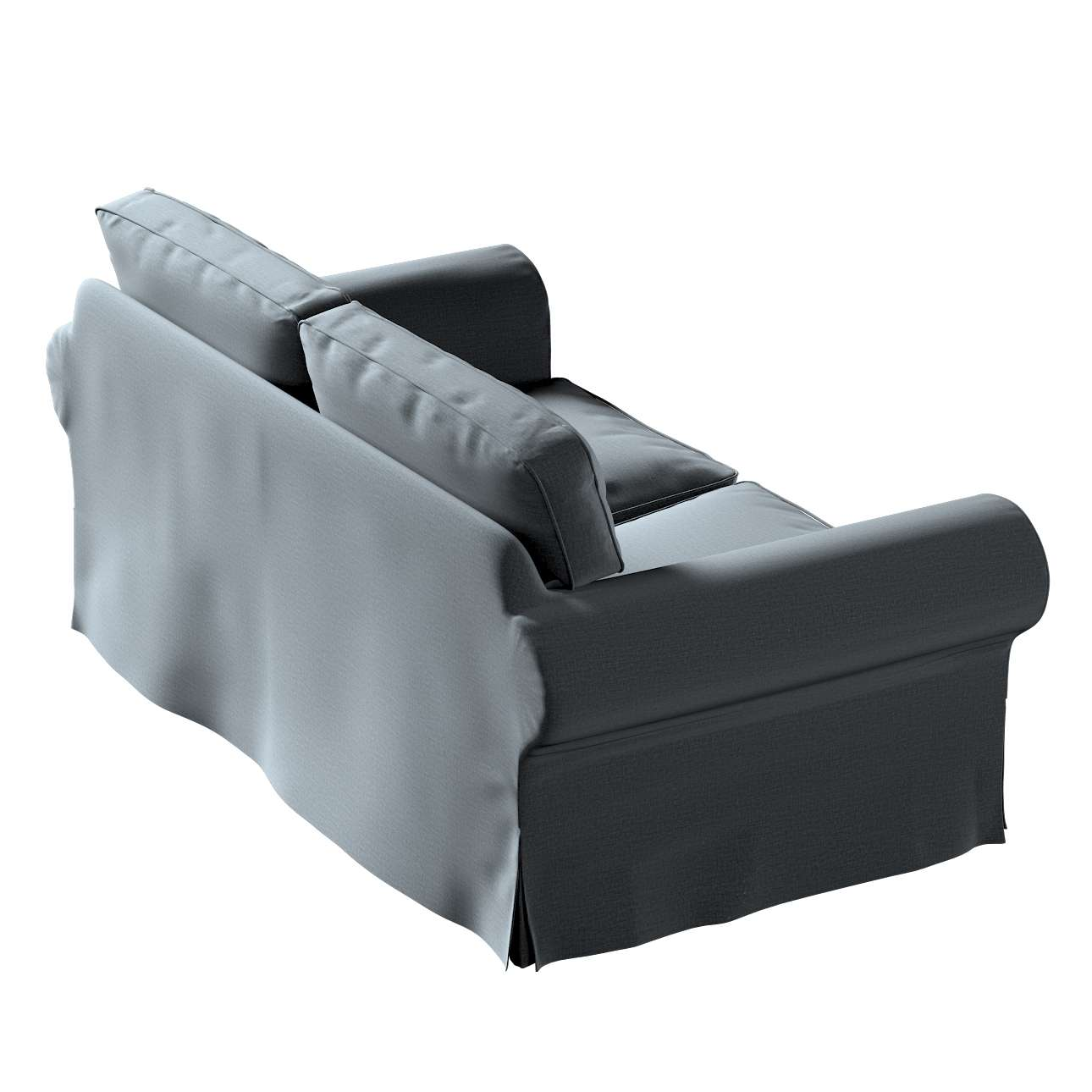 Pokrowiec na sofę Ektorp 2-osobową, nierozkładaną w kolekcji Ingrid, tkanina: 705-43