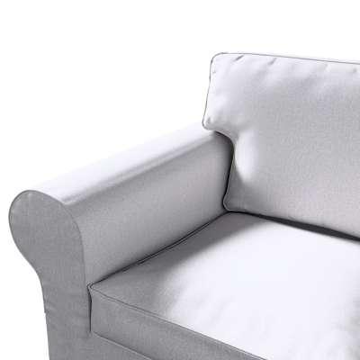 Pokrowiec na sofę Ektorp 2-osobową, nierozkładaną w kolekcji Amsterdam, tkanina: 704-45