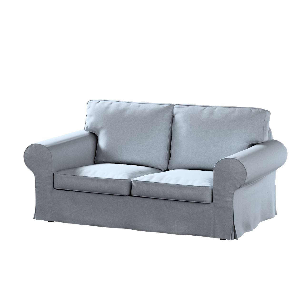 Pokrowiec na sofę Ektorp 2-osobową, nierozkładaną w kolekcji Amsterdam, tkanina: 704-46