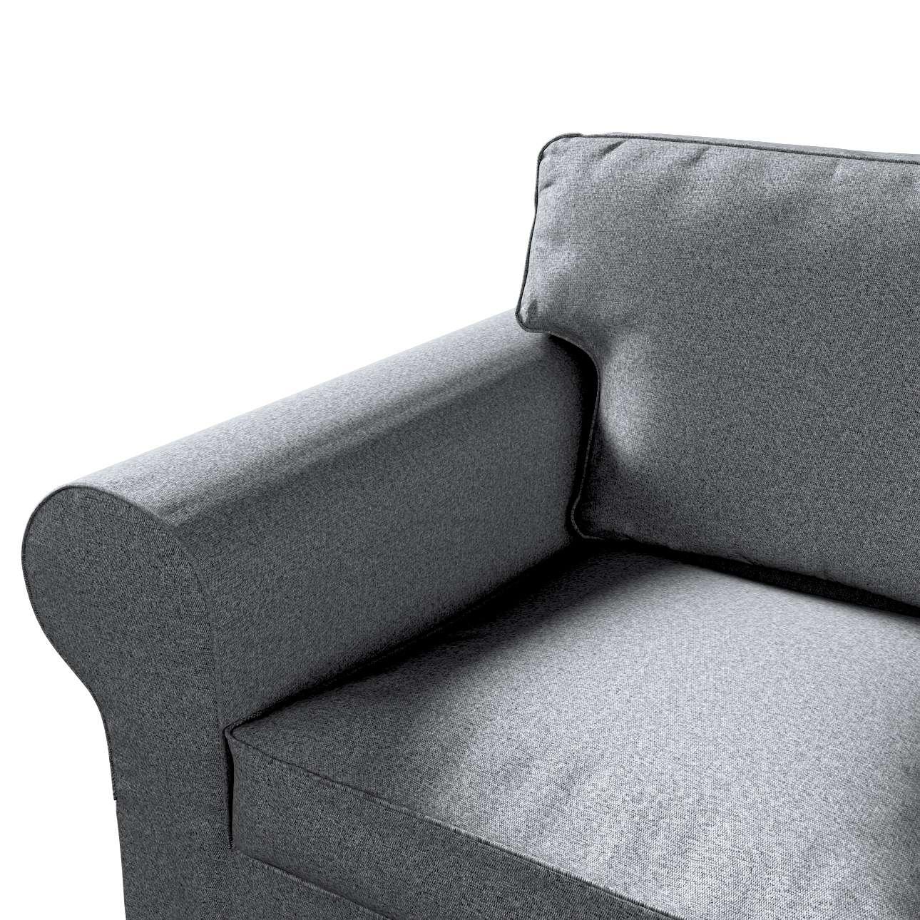 Pokrowiec na sofę Ektorp 2-osobową, nierozkładaną w kolekcji Amsterdam, tkanina: 704-47