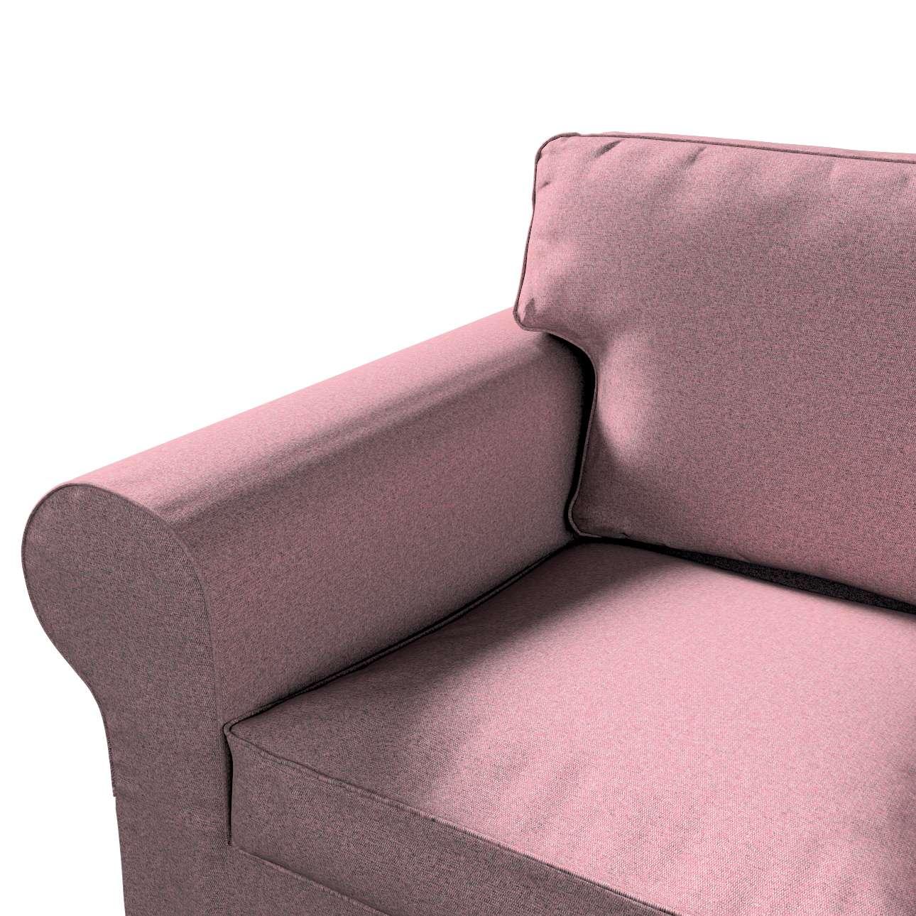Pokrowiec na sofę Ektorp 2-osobową, nierozkładaną w kolekcji Amsterdam, tkanina: 704-48
