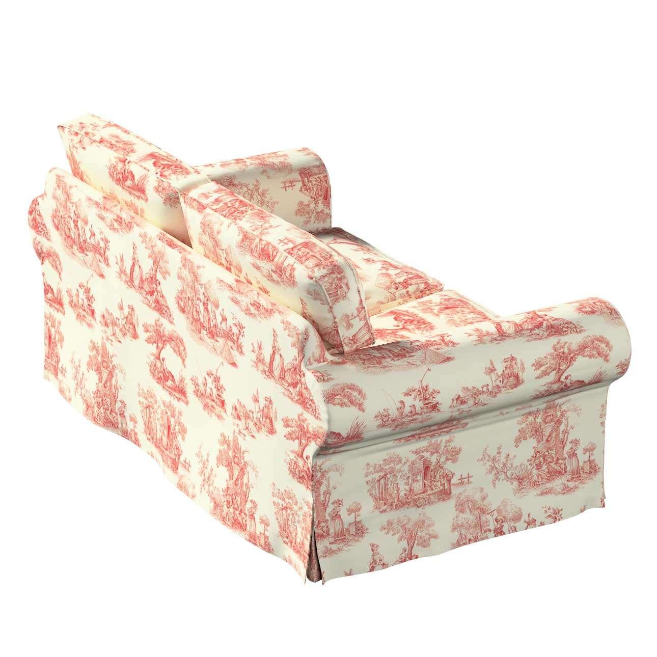 Potah na pohovku IKEA  Ektorp 2-místná, nerozkládací pohovka Ektorp 2-místná v kolekci Avignon, látka: 132-15