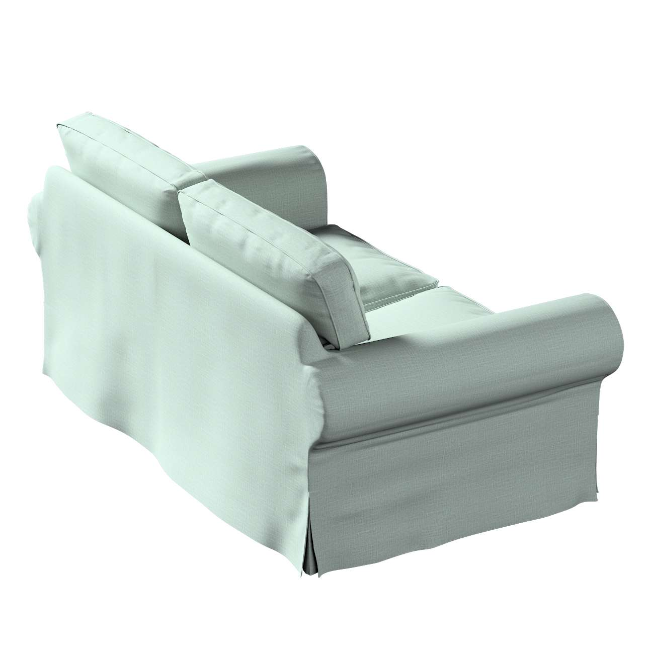 Potah na pohovku IKEA  Ektorp 2-místná, nerozkládací v kolekci Living, látka: 160-86