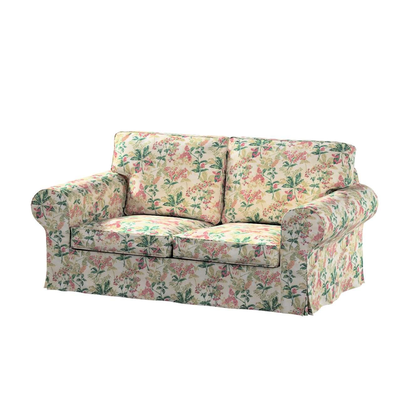 Pokrowiec na sofę Ektorp 2-osobową, nierozkładaną w kolekcji Londres, tkanina: 143-41