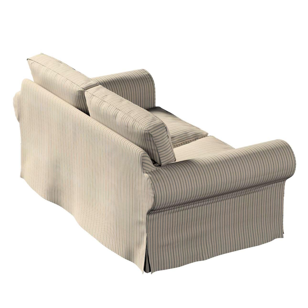 Pokrowiec na sofę Ektorp 2-osobową, nierozkładaną w kolekcji Londres, tkanina: 143-38