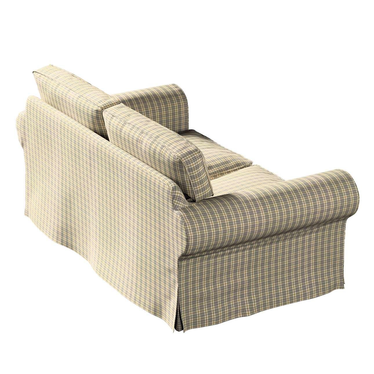 Pokrowiec na sofę Ektorp 2-osobową, nierozkładaną w kolekcji Londres, tkanina: 143-39