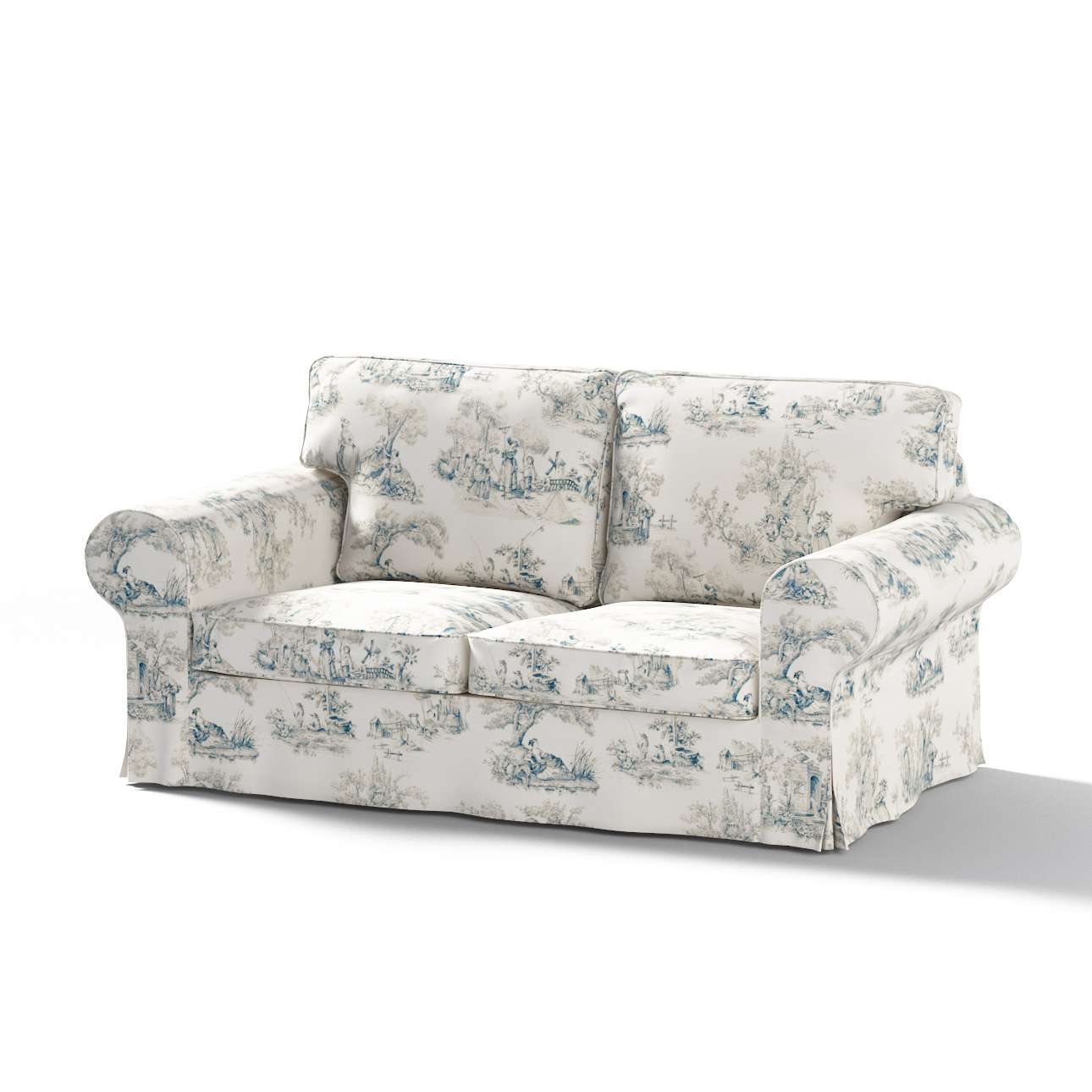 Ektorp 2-seater sofa cover in collection Avinon, fabric: 132-66