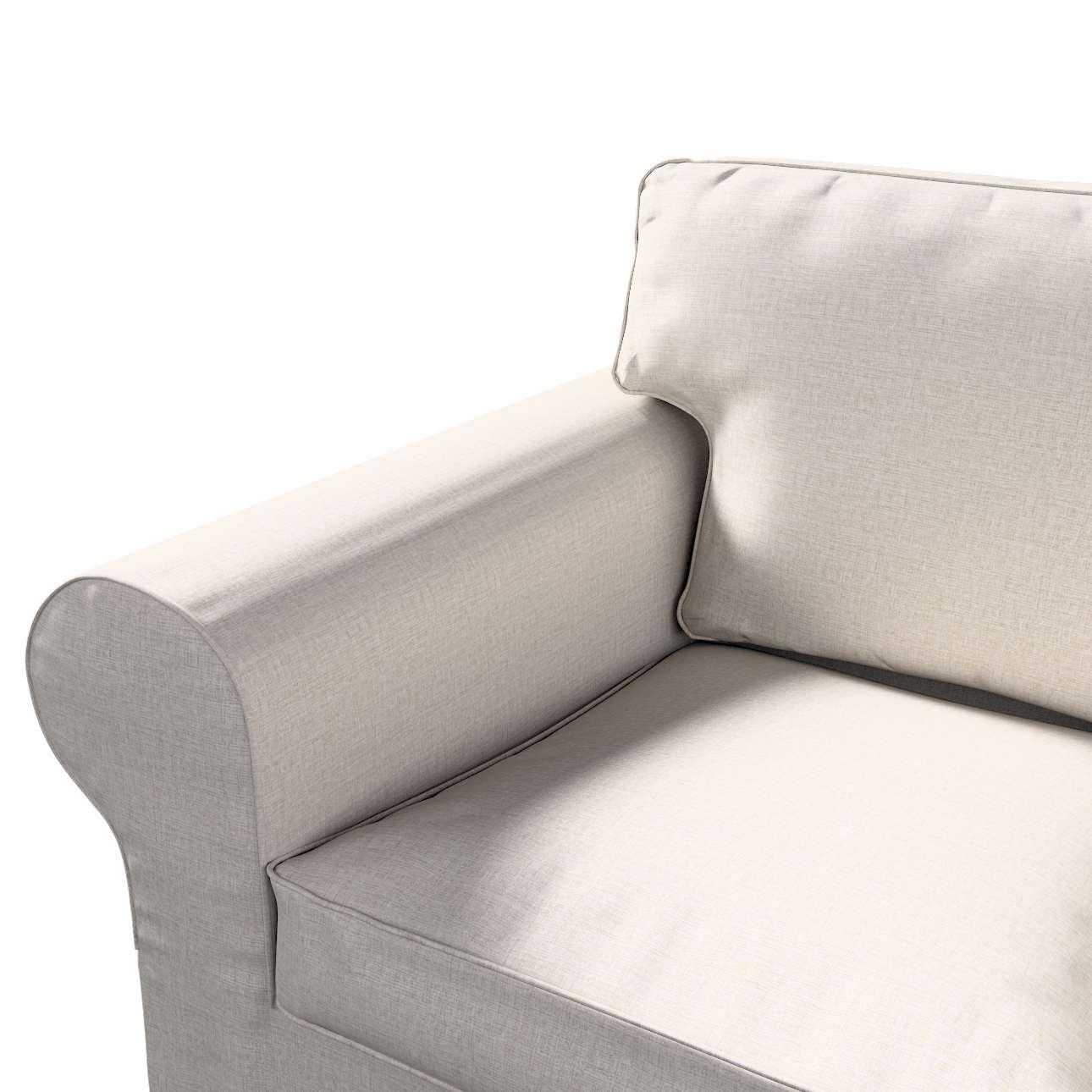 Pokrowiec na sofę Ektorp 2-osobową, nierozkładaną w kolekcji Living II, tkanina: 161-00