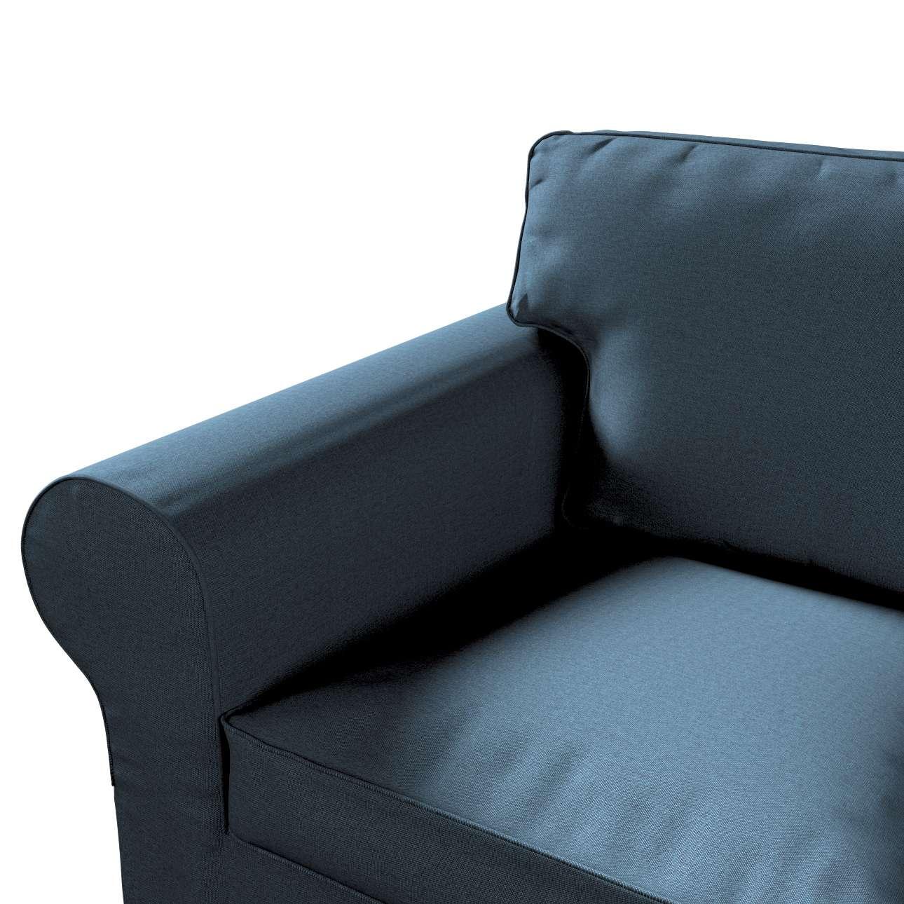 Pokrowiec na sofę Ektorp 2-osobową, nierozkładaną w kolekcji Etna, tkanina: 705-30
