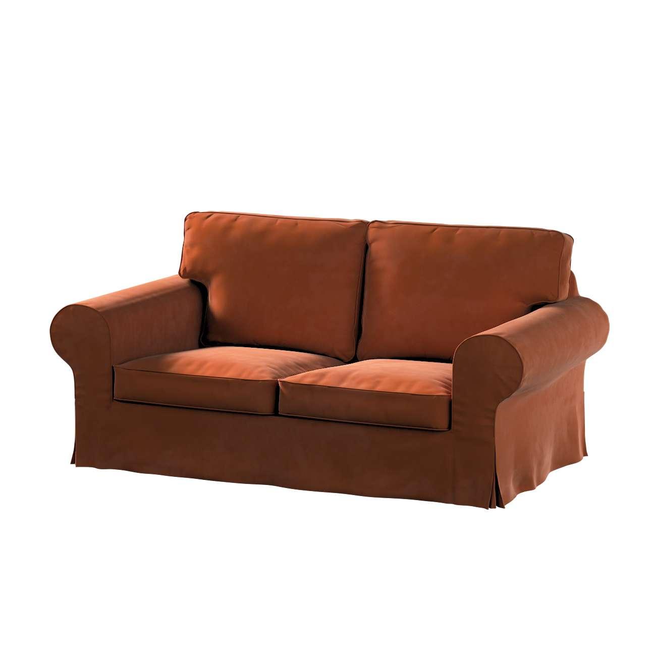 Pokrowiec na sofę Ektorp 2-osobową, nierozkładaną w kolekcji Velvet, tkanina: 704-33