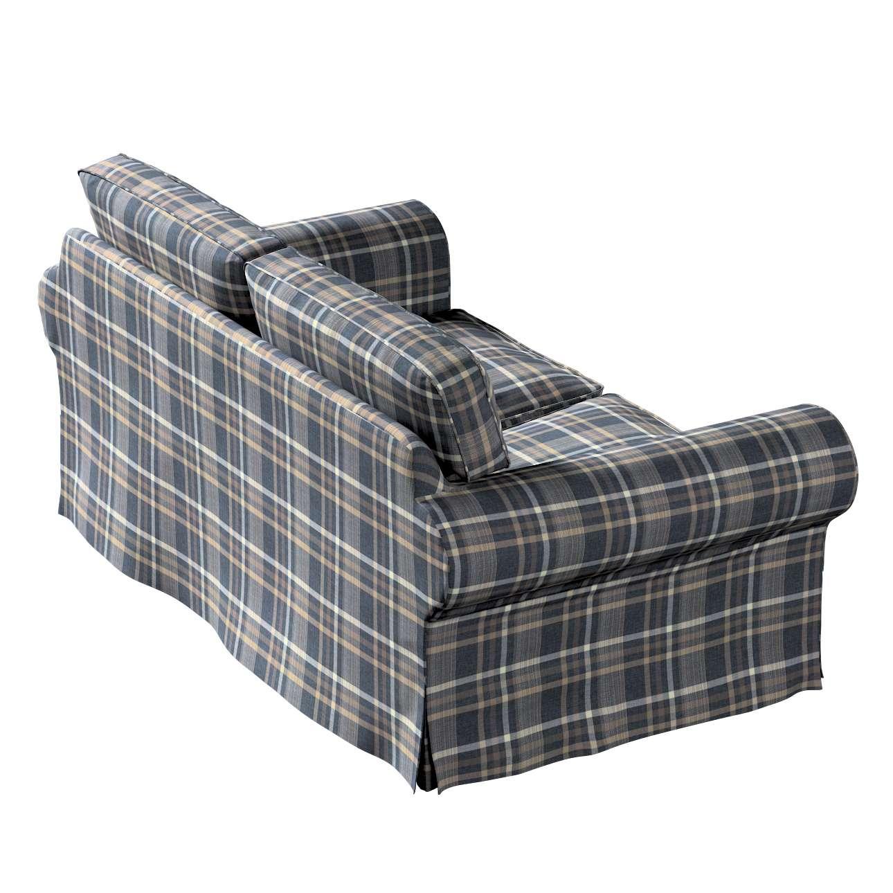 Pokrowiec na sofę Ektorp 2-osobową, nierozkładaną w kolekcji Edinburgh, tkanina: 703-16