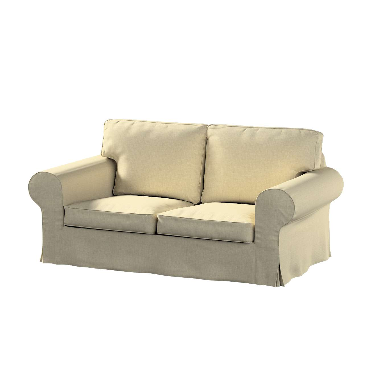 Poťah na sedačku Ektorp (nerozkladá sa, pre 2 osoby) V kolekcii Living, tkanina: 161-45