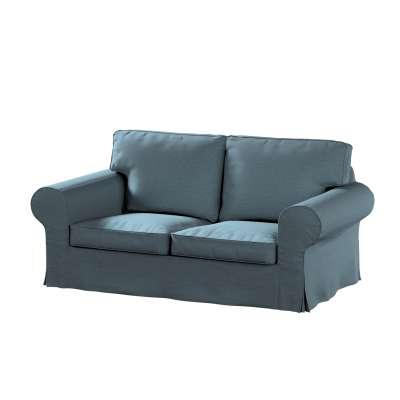 Potah na pohovku IKEA  Ektorp 2-místná, nerozkládací 161-90 džínová melanž Kolekce Madrid