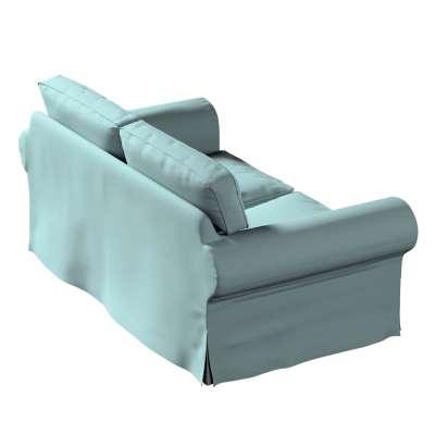 Potah na pohovku IKEA  Ektorp 2-místná, nerozkládací 702-40 eukaliptusowy błękit Kolekce Cotton Panama