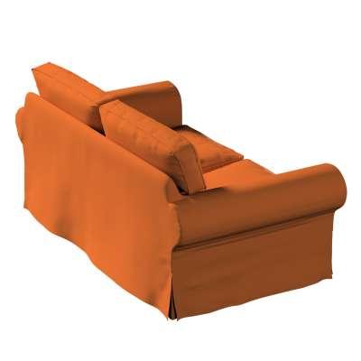 Pokrowiec na sofę Ektorp 2-osobową, nierozkładaną w kolekcji Cotton Panama, tkanina: 702-42