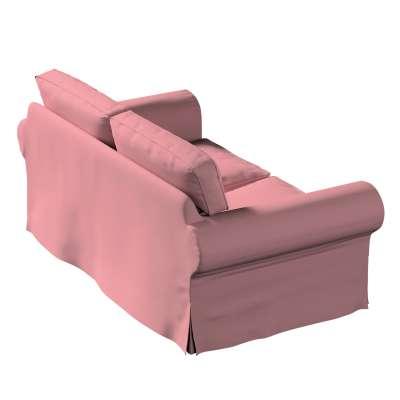 Potah na pohovku IKEA  Ektorp 2-místná, nerozkládací 702-43 zgaszony róż Kolekce Cotton Panama