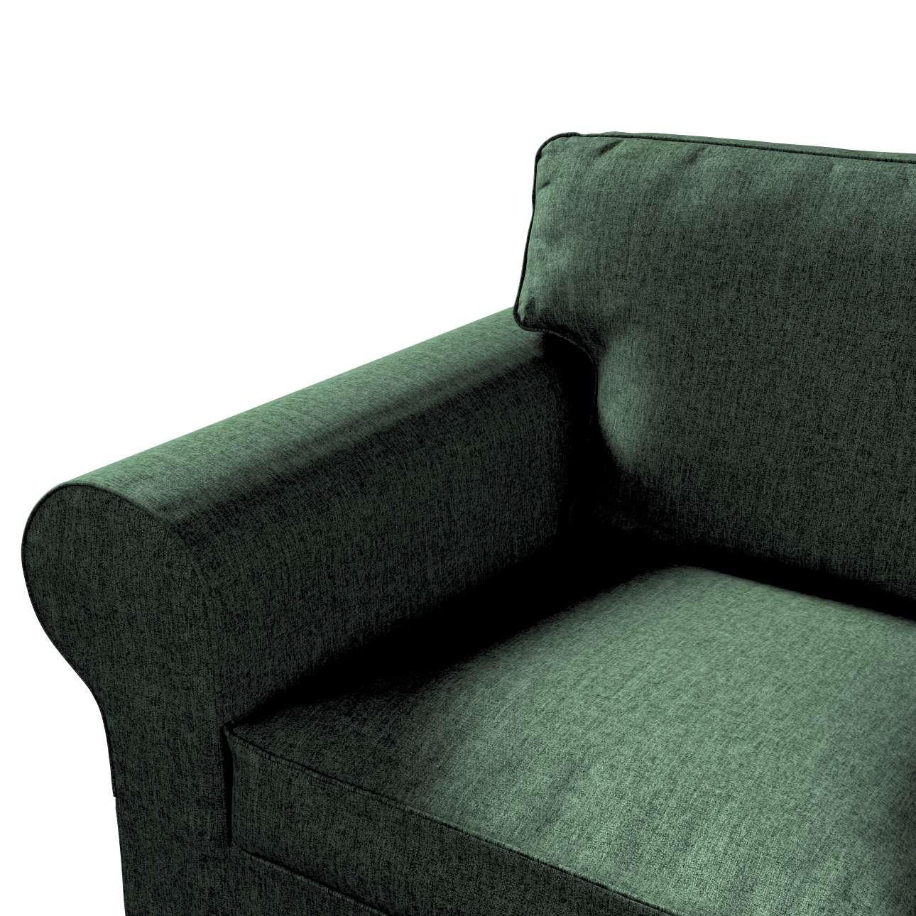 IKEA-hoes voor Ektorp 2-zitsbank - niet uitklapbaar van de collectie City, Stof: 704-81