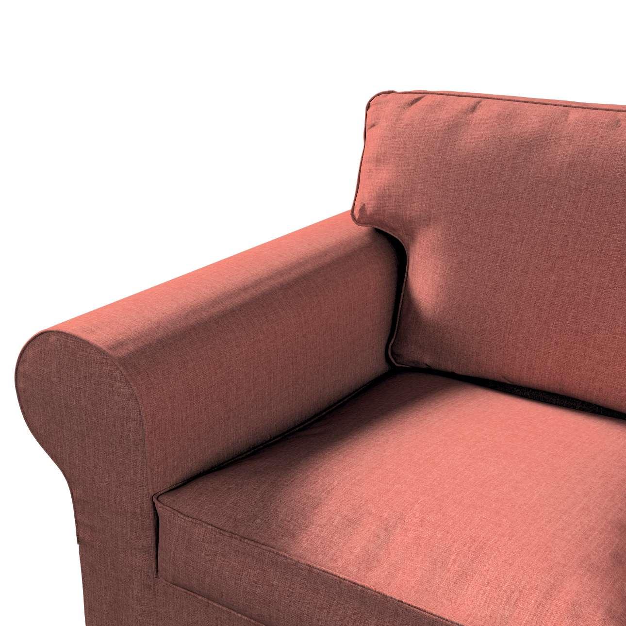 IKEA-hoes voor Ektorp 2-zitsbank - niet uitklapbaar van de collectie City, Stof: 704-84