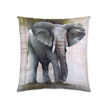 Elephant 45x45cm  - Dekoria.dk
