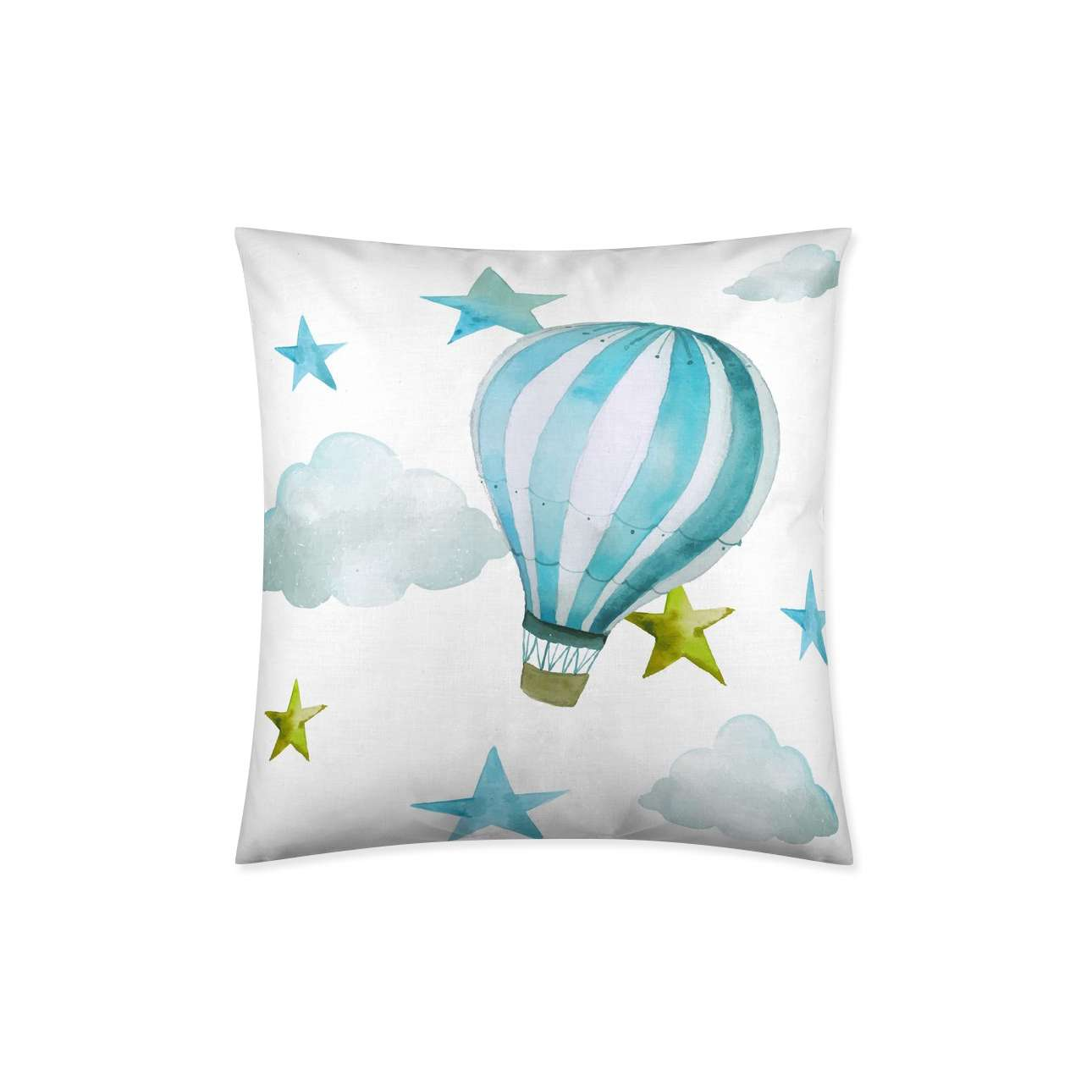 Kussenhoes Turquoise Balloon 45x45cm