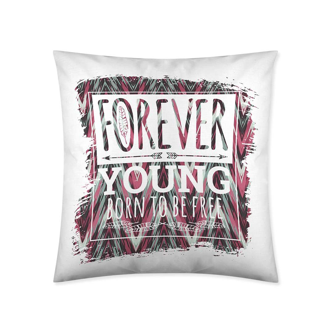 Poszewka Forever Young 45x45cm  45x45cm