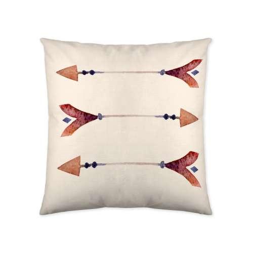 Arrow Print Cushion Cover 45x45cm