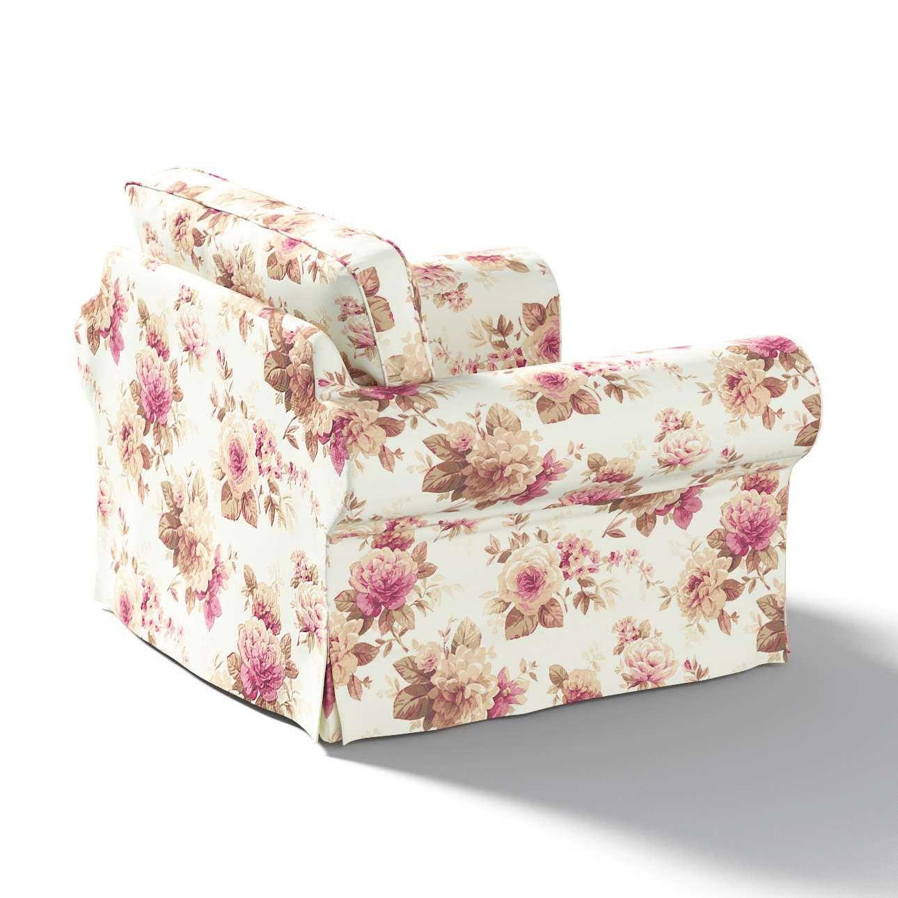Pokrowiec na fotel Ektorp w kolekcji Mirella, tkanina: 141-06