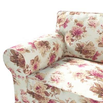 Pokrowiec na fotel Ektorp w kolekcji Londres, tkanina: 141-06