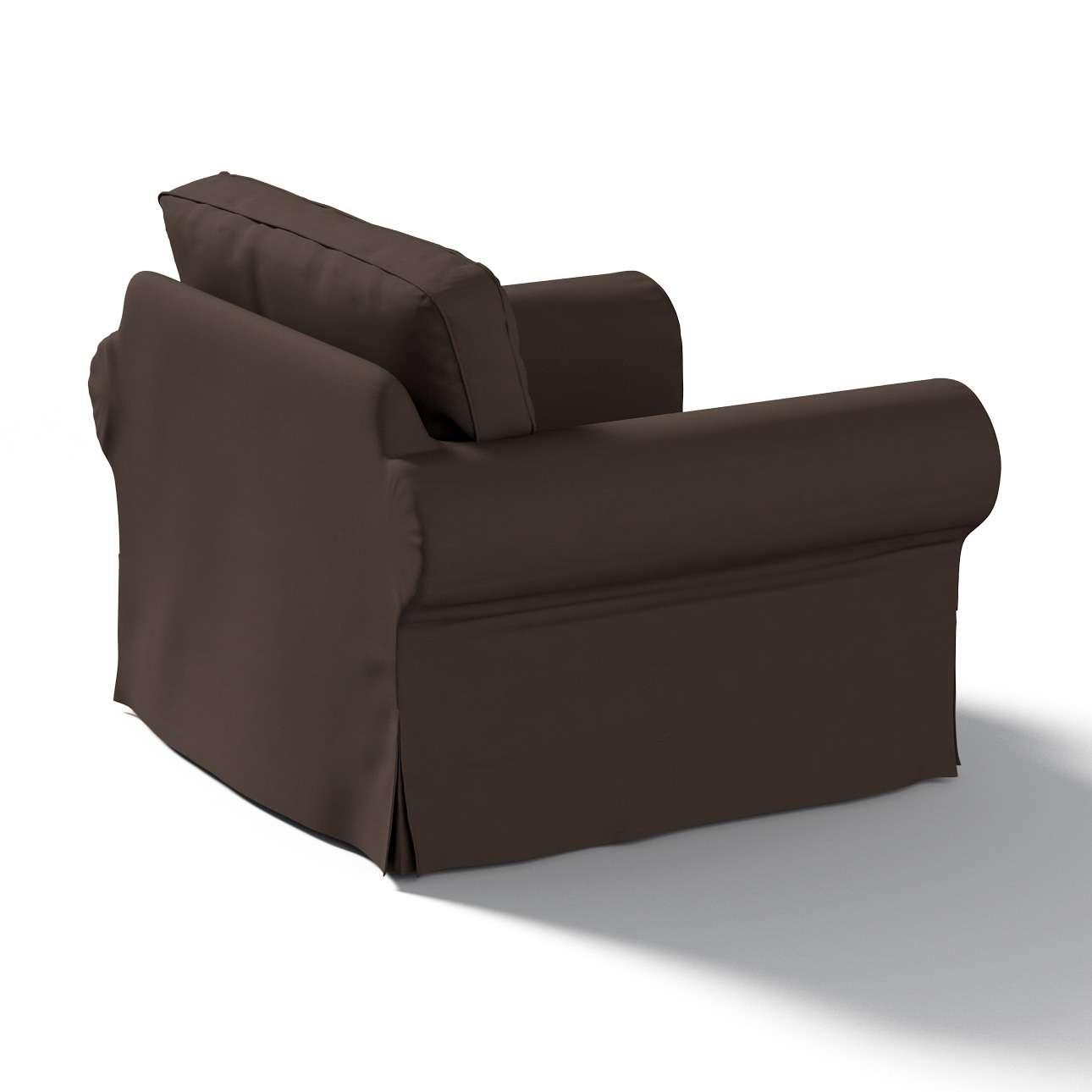 Pokrowiec na fotel Ektorp Fotel Ektorp w kolekcji Cotton Panama, tkanina: 702-03