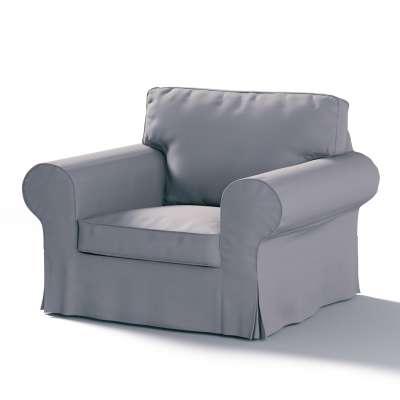 Pokrowiec na fotel Ektorp w kolekcji Cotton Panama, tkanina: 702-07