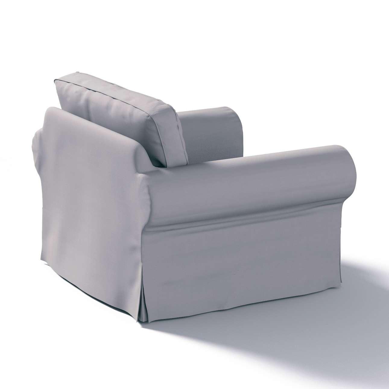 Pokrowiec na fotel Ektorp Fotel Ektorp w kolekcji Cotton Panama, tkanina: 702-07