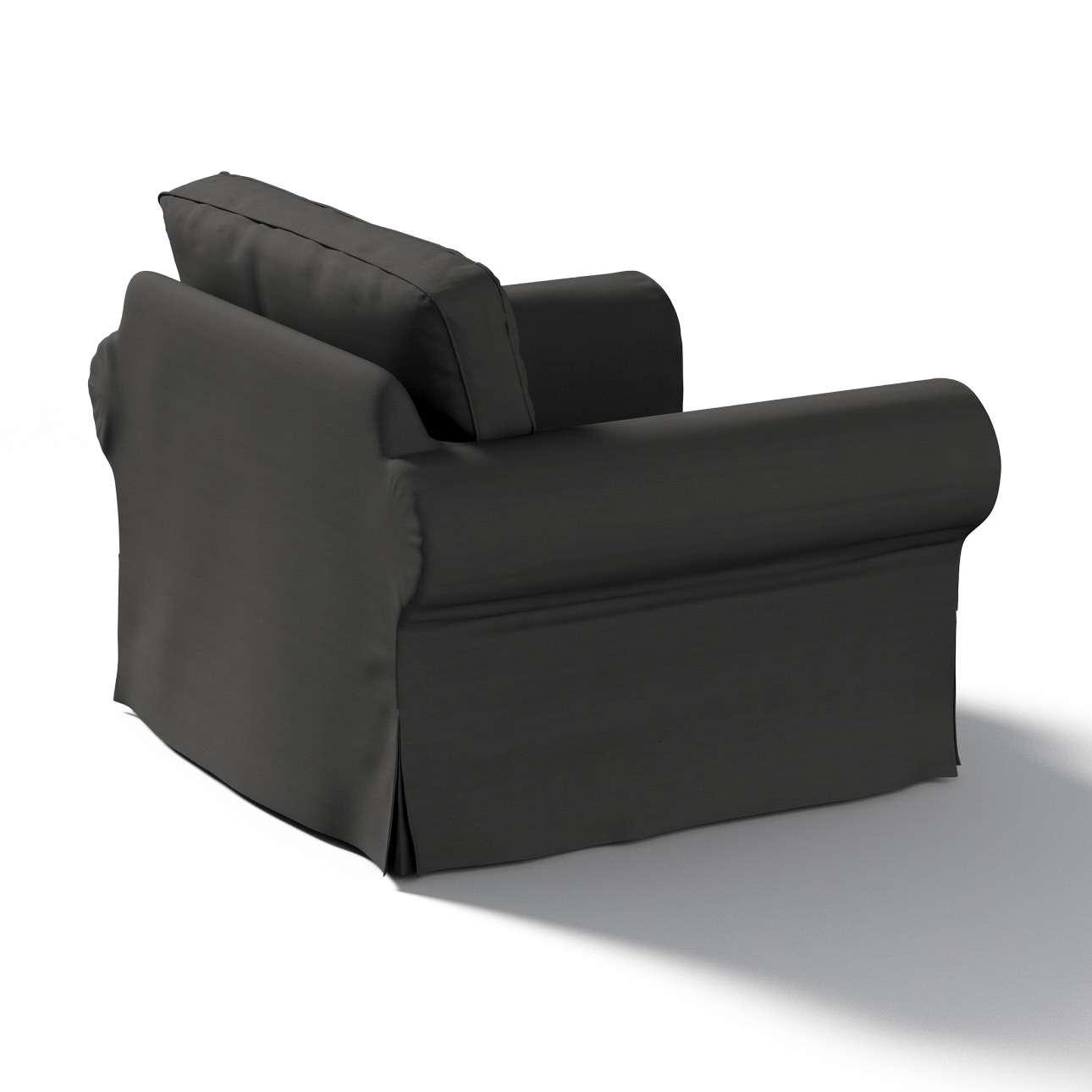 Pokrowiec na fotel Ektorp w kolekcji Cotton Panama, tkanina: 702-08
