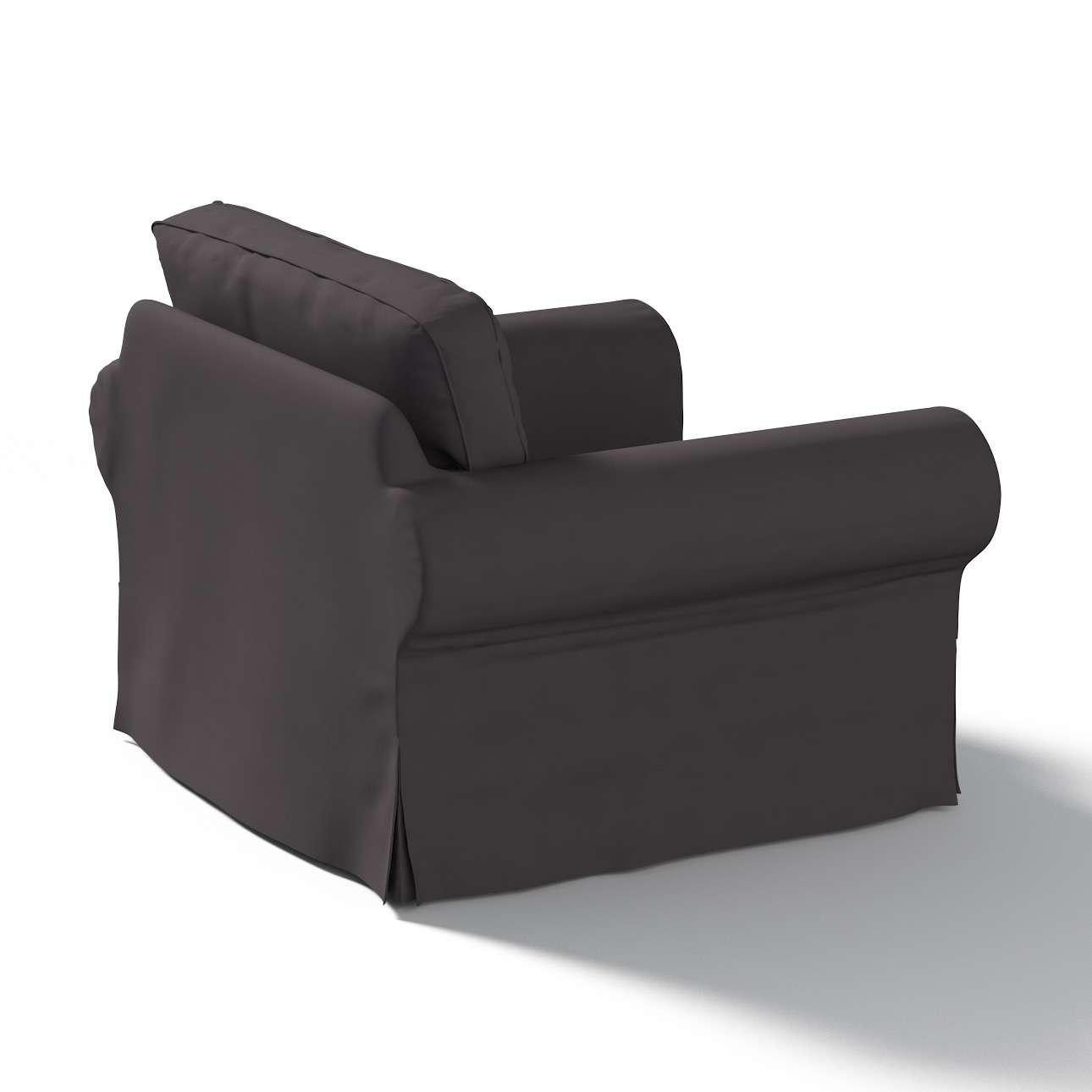 Ektorp Sesselbezug Sesselhusse, Ektorp Sessel von der Kollektion Cotton Panama, Stoff: 702-09