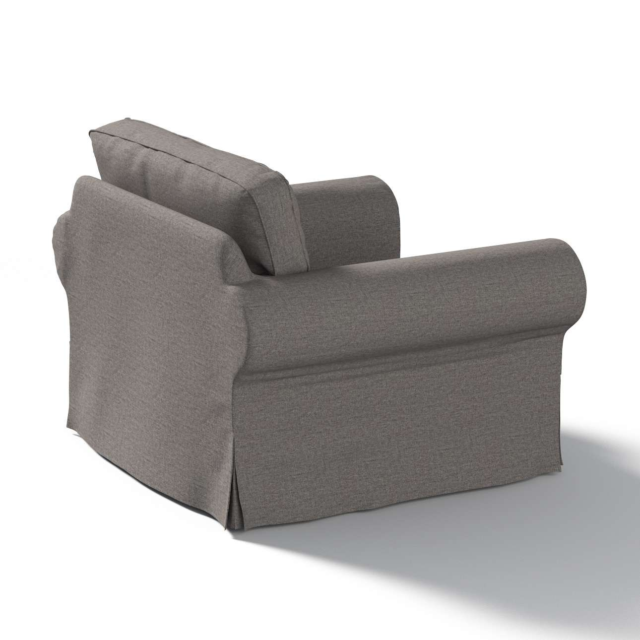 Pokrowiec na fotel Ektorp w kolekcji Edinburgh, tkanina: 115-77