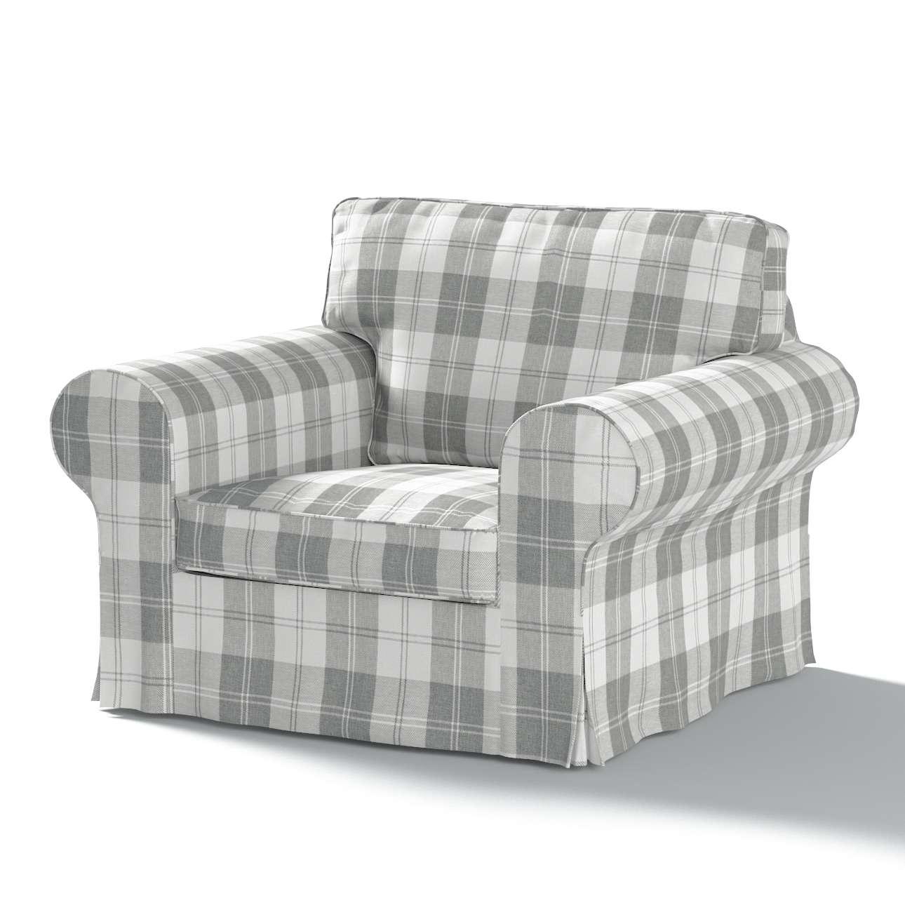 Ektorp Sesselbezug, weiß-grau , Sesselhusse, Ektorp Sessel, Edinburgh