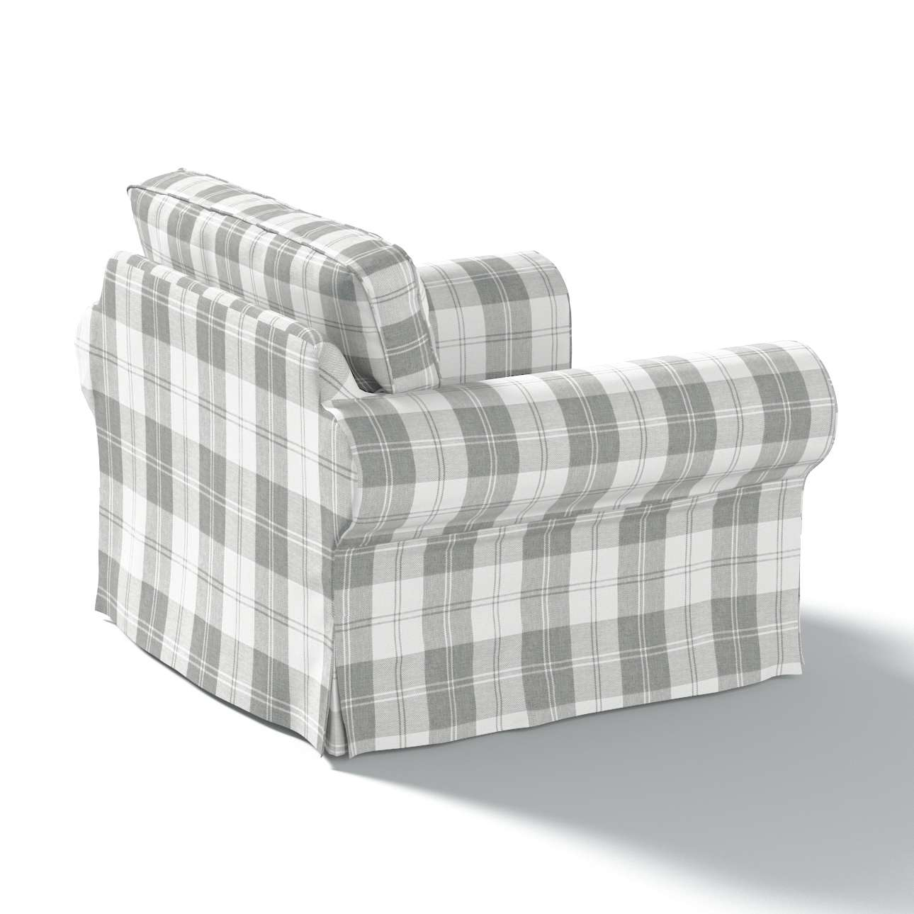 Ektorp Sesselbezug Sesselhusse, Ektorp Sessel von der Kollektion Edinburgh , Stoff: 115-79