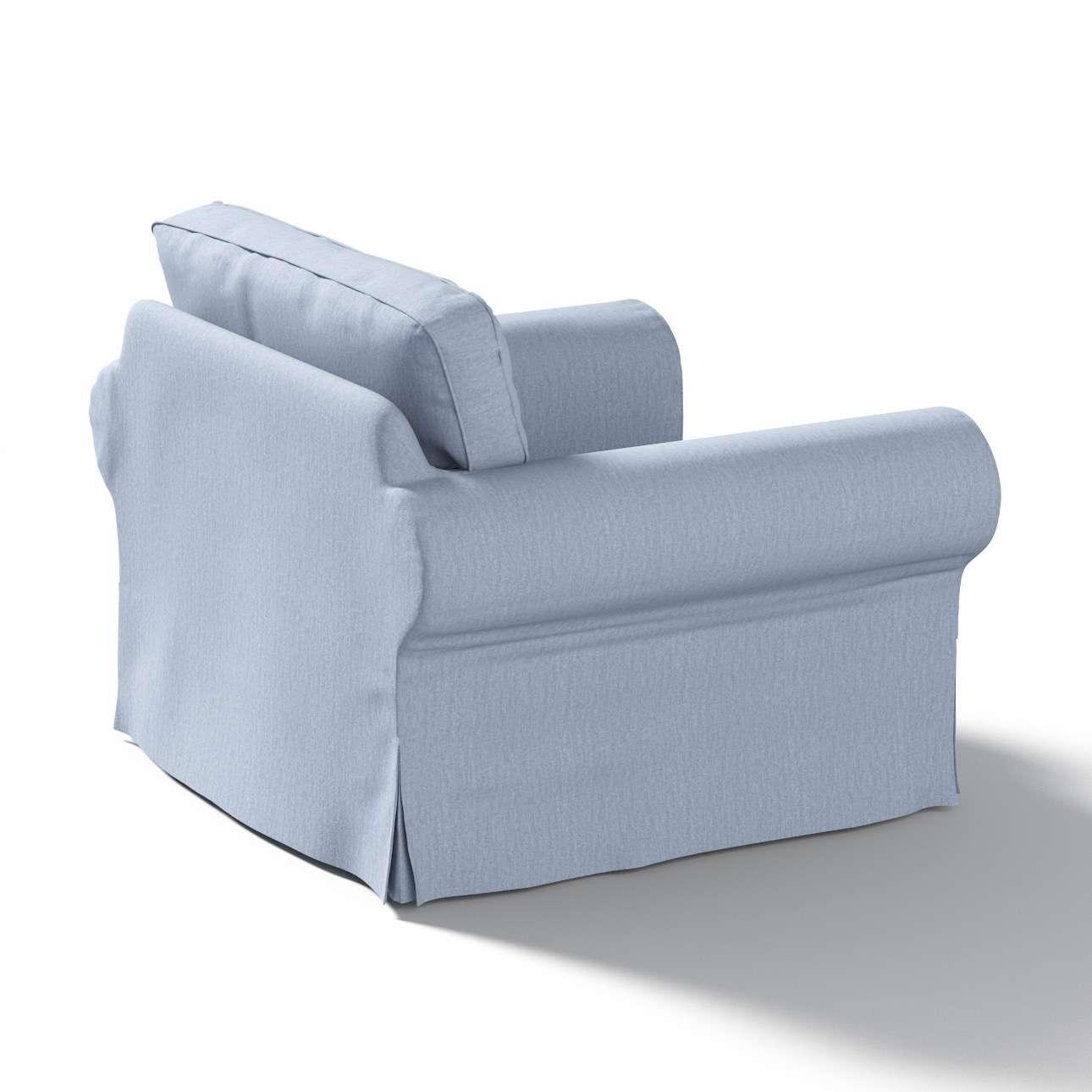 Pokrowiec na fotel Ektorp w kolekcji Chenille, tkanina: 702-13